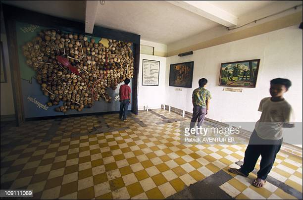 Archival S21 Extermination Camp Of Khmer Rouge Became Museum Of Genocide On October 01St 1991 In Phnom Penh Cambodia An Artefact Left By The...