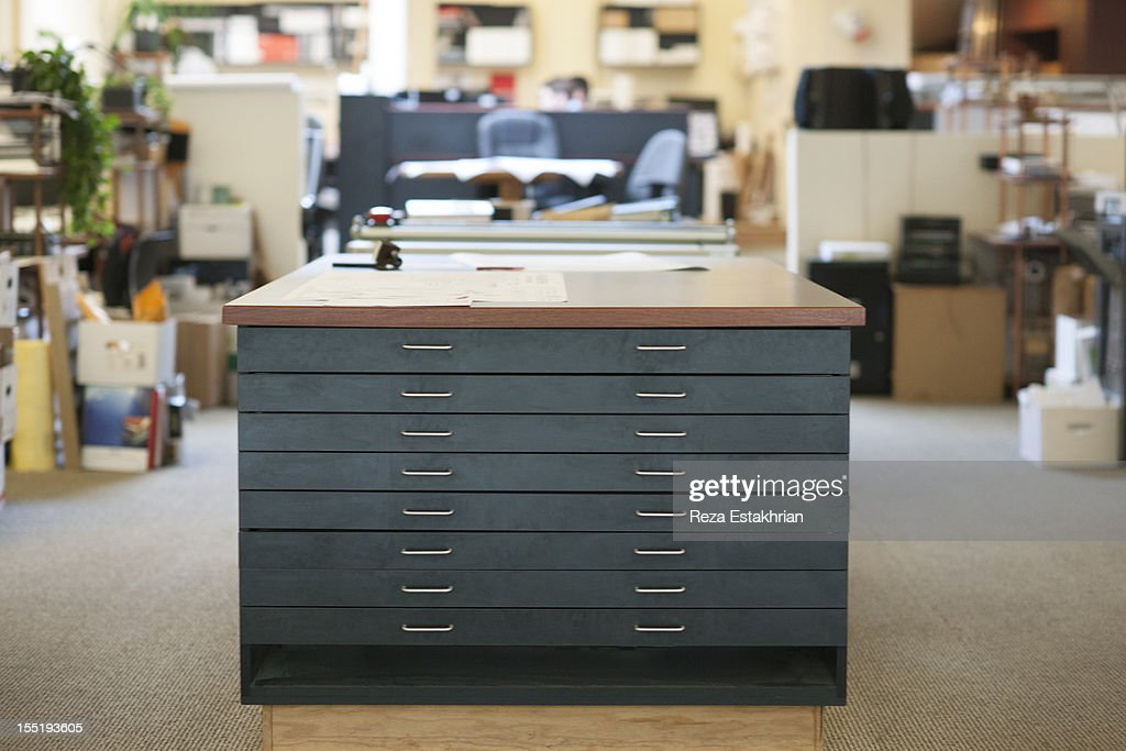 Archive drawers : Stock Photo
