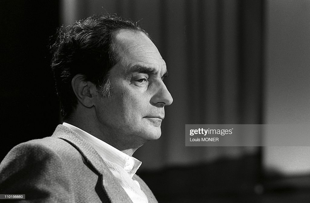 Archivements: Italo Calvino in Paris, France in 1970. : News Photo