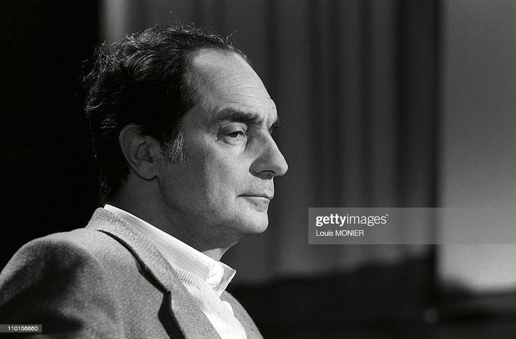 Italo Calvino in Paris, France in 1970.