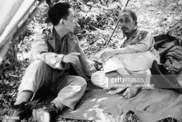 Archives: Dien Bien Phu Battle In Dien Bien Phu, Vietnam In May, 1954-Ho Chi Minh and Giap.