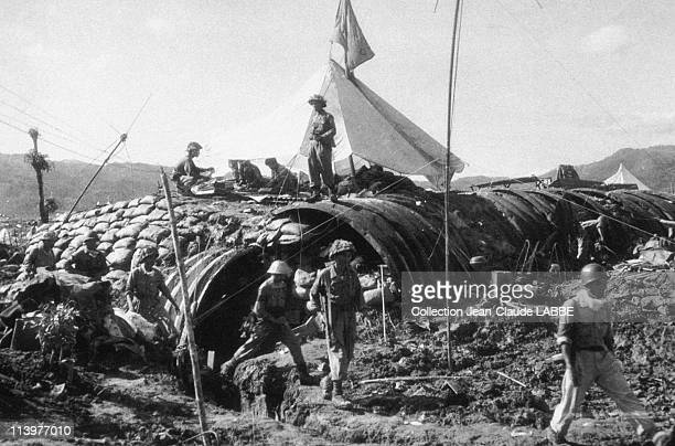 Archives: Dien Bien Phu Battle In Dien Bien Phu, Vietnam In May, 1954-French command post taken by the Vietminh.
