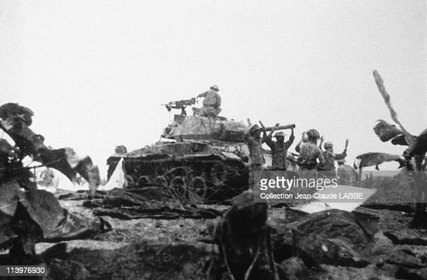 Archives Dien Bien Phu Battle In Dien Bien Phu Vietnam In May 1954French troops surrendering to the Vietminh forces May 7 1954