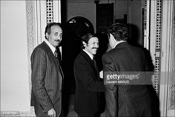 Archives of Abdelaziz Bouteflika in Algiers Algeria on April 09th 1979