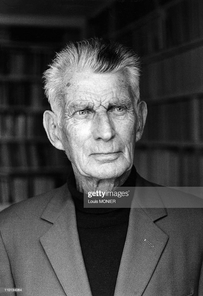 Archives: The writer Samuel Beckett in France in April, 1997. : News Photo