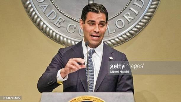 Archivo- alcalde de Miami Francis Suárez.