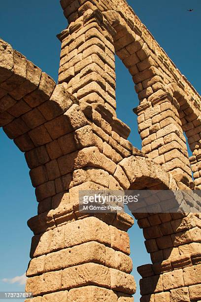 Archs on the Aqueduct of Segovia