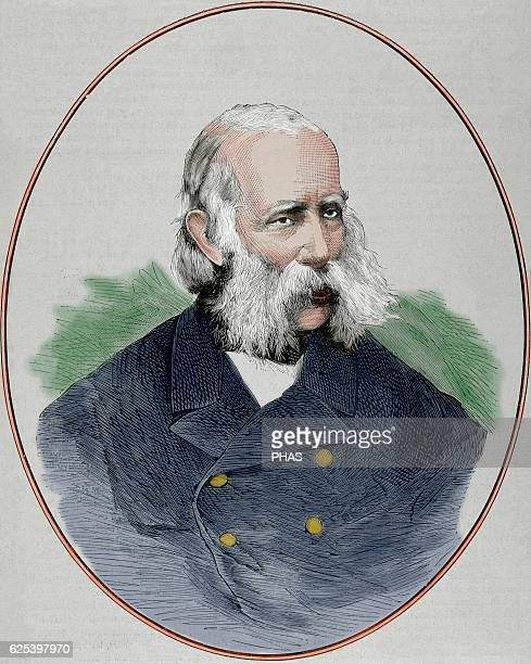 Archuke Frank Karl Joseph of Austria . House of Habsburg. Father of tw emperors . Portrait. Engraving, 1878. Colored.