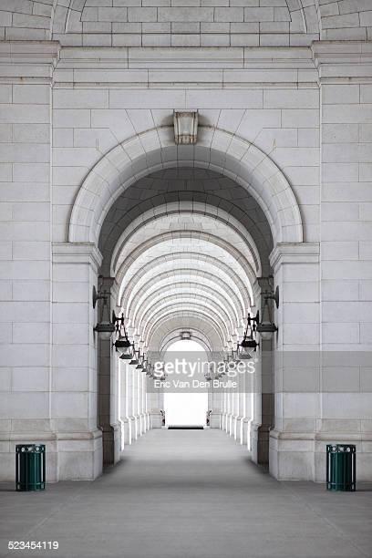 archway - eric van den brulle foto e immagini stock