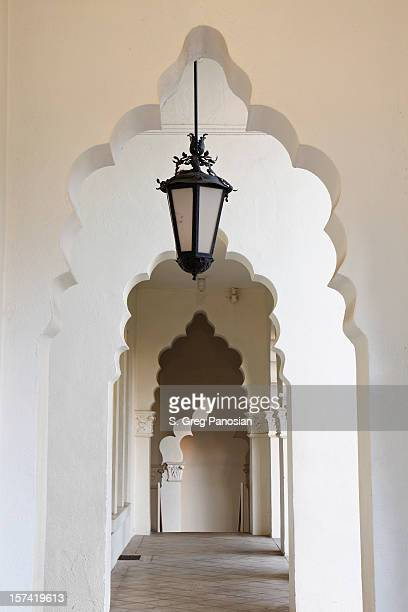 archways - san fernando california stock photos and pictures