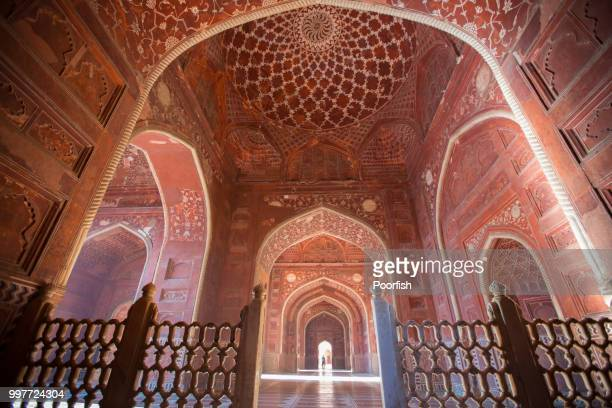 archways - agra stock pictures, royalty-free photos & images