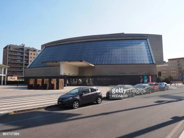 Arcimboldi Theatre Viale de' Innovazione street Bicocca area Milan Lombardy Italy Europe