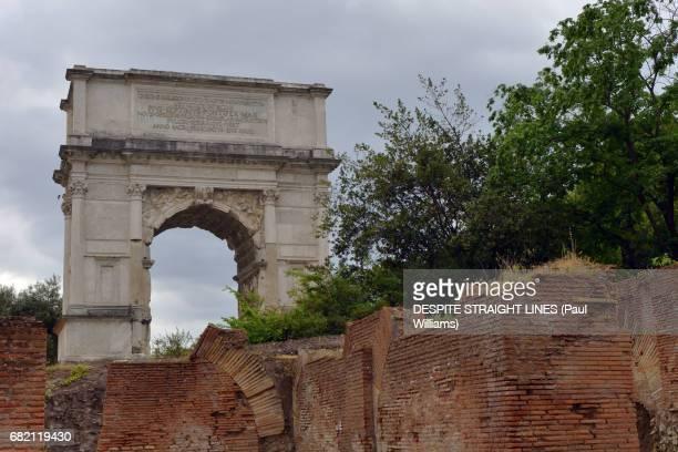 Arco di Tito (Arch of Titus), forum Romanum, Rome