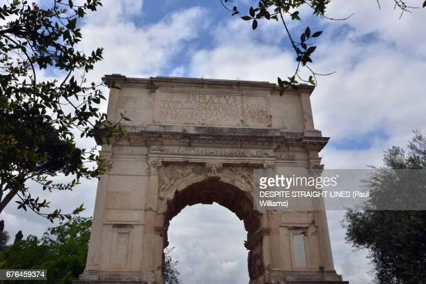 Arco di Tito (Arch of Titus), Roman Forum, Rome, Italy