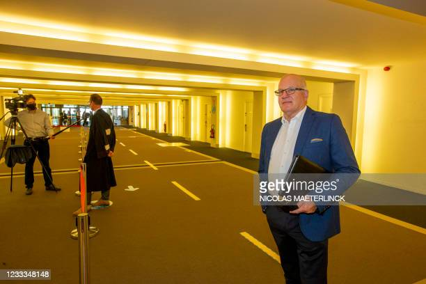 ArcoClaim.be chairman Ab Flipse pictured ahead of a session in the case that more than 2,000 Arco cooperatives have instituted against several Arco...