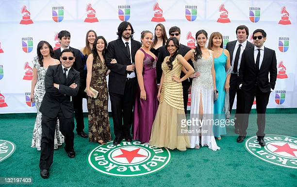Arcor Rocklets arrive at the 12th annual Latin GRAMMY Awards at the Mandalay Bay Resort Casino on November 10 2011 in Las Vegas Nevada