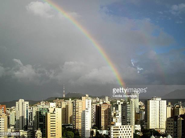 arco-íris / rainbow - belo horizonte stock pictures, royalty-free photos & images
