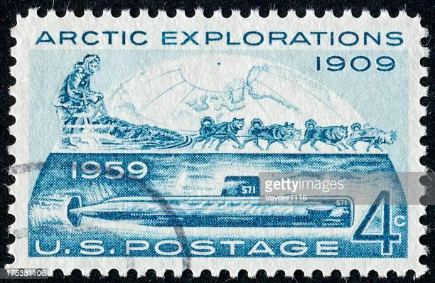 Arctic Explorations Stamp