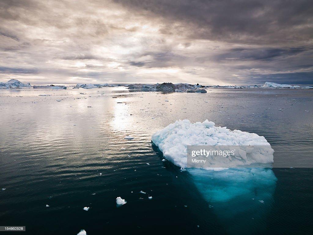 北極 Icebergs グリーンランドノースポール XXXL : ストックフォト