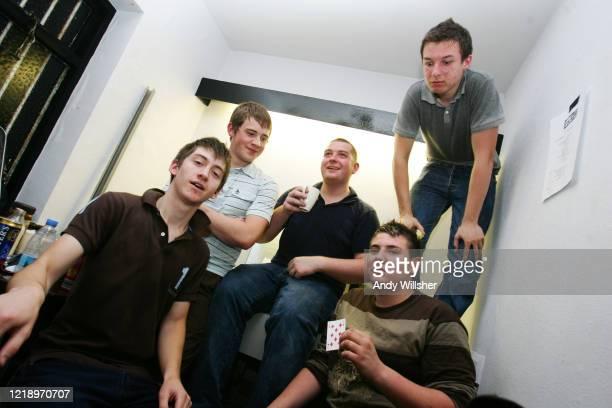 Arctic Monkeys in Barnsley in 2005