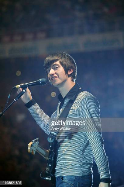 Arctic Monkeys perform at Old Traffiord Cricket Ground July 2007