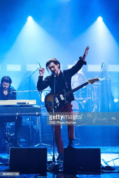 Arctic Monkeys perform during 'The Late Late Show with James Corden' Monday May 14 2018 On The CBS Television Network