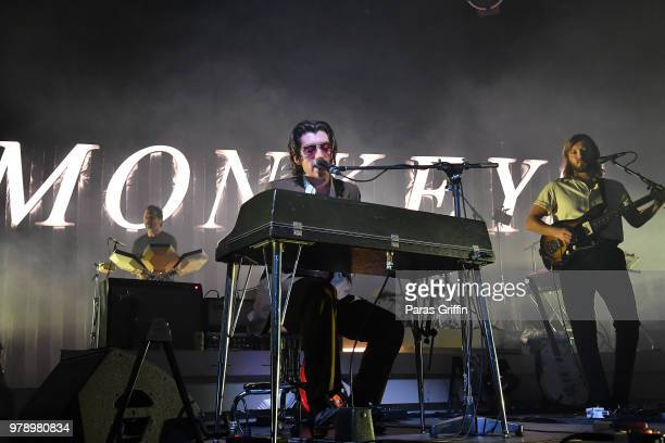 Arctic Monkeys perform onstage at CocaCola Roxy on June 19 2018 in Atlanta Georgia