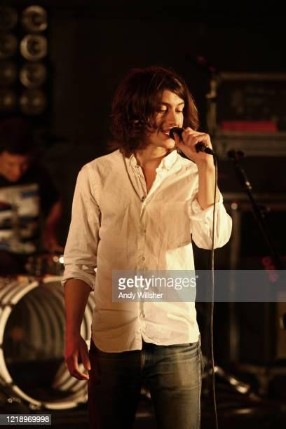 Arctic Monkeys performing at MTV Studios in London in 2009