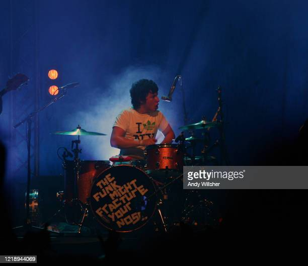 Arctic Monkeys performing live in Glasgow in 2006