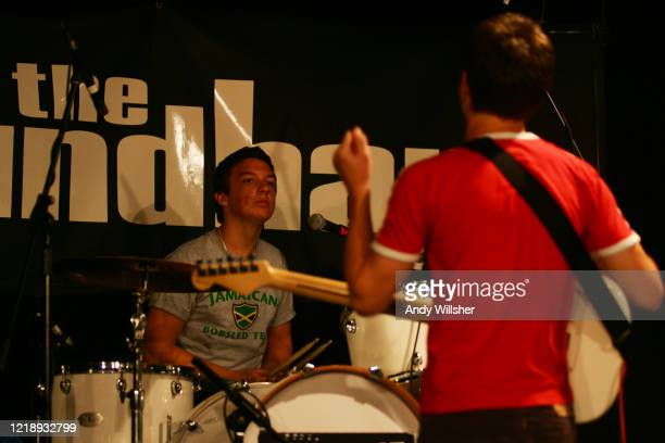 Arctic Monkeys performing live in Northampton in 2005