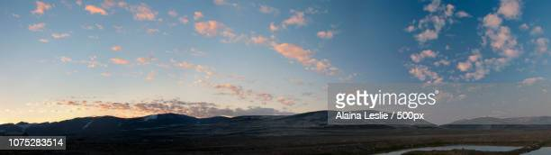 Arctic Mountains at Dusk in Nunavut, Canada