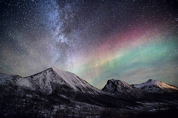 arctic nightsky