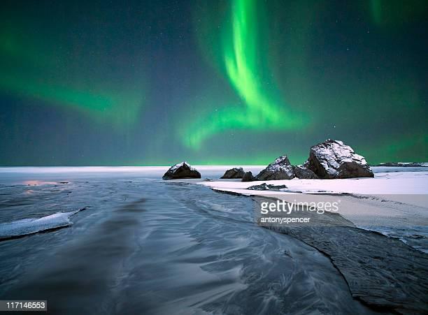 Arctic Ocean Aurora.