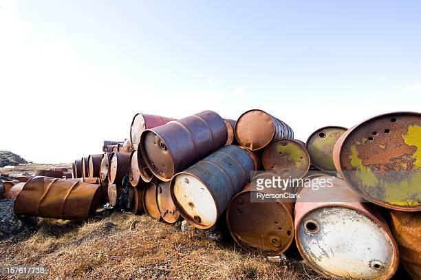 Arctic Oil Barrels.