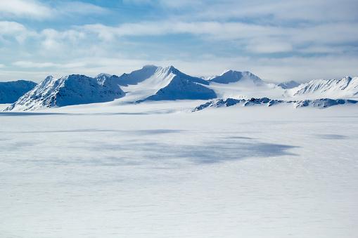 Arctic spring in south Spitsbergen. 485828690