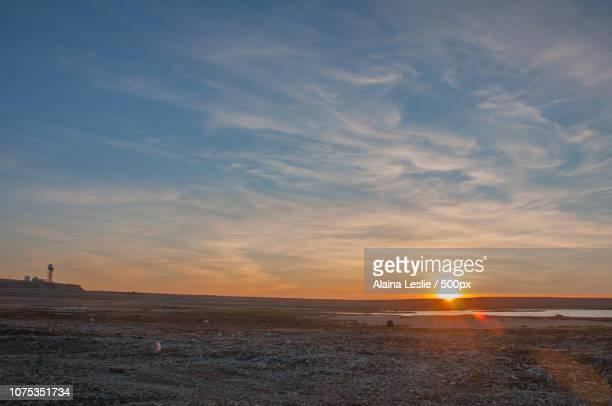 Arctic Sunset on Hat Island