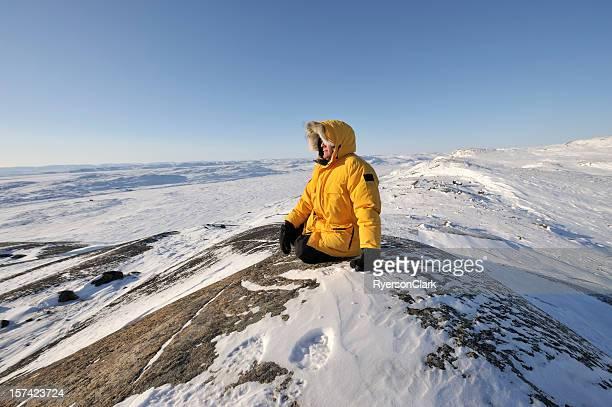 Arktische Tundra, Baffin-Insel.