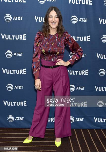 Arcy Carden arrives at the Vulture Festival Los Angeles 2019 Day 1 at Hollywood Roosevelt Hotel on November 9 2019 in Hollywood California