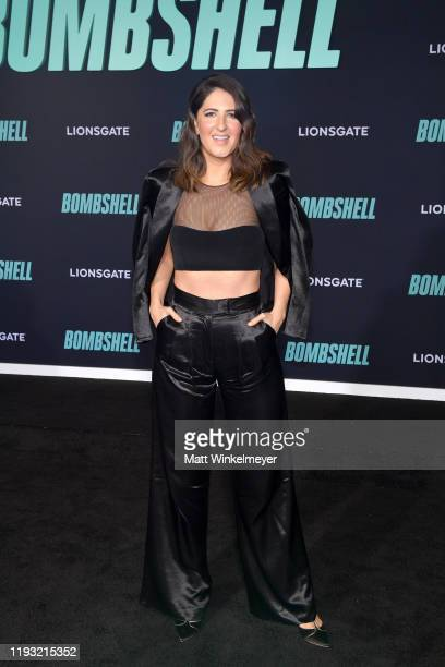 Arcy Carden attends a Special Screening of Liongate's Bombshell at Regency Village Theatre on December 10 2019 in Westwood California