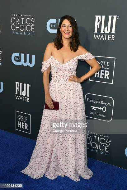 Arcy Carden attends the 25th Annual Critics' Choice Awards held at Barker Hangar on January 12 2020 in Santa Monica California