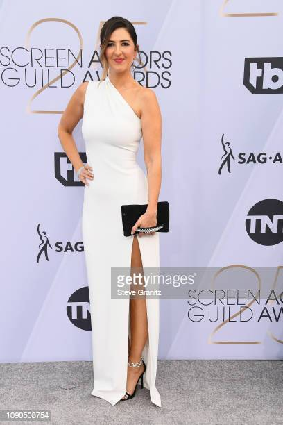 Arcy Carden attends the 25th Annual Screen Actors Guild Awards at The Shrine Auditorium on January 27 2019 in Los Angeles California
