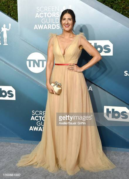 Arcy Carden attends the 26th Annual Screen Actors Guild Awards at The Shrine Auditorium on January 19 2020 in Los Angeles California