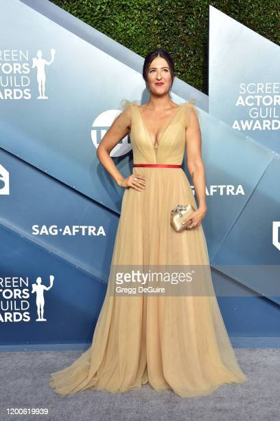 Arcy Carden attends the 26th Annual Screen Actors Guild Awards at The Shrine Auditorium on January 19, 2020 in Los Angeles, California. 721430