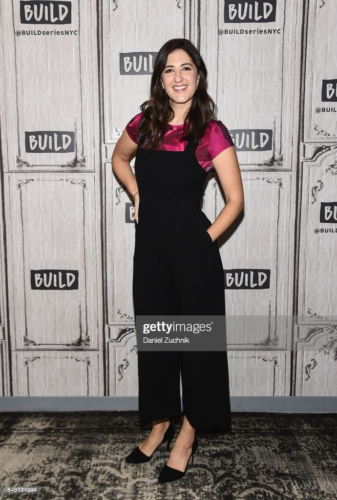 "Build Presents D'Arcy Carden Discussing ""The Good Place"" : News Photo"
