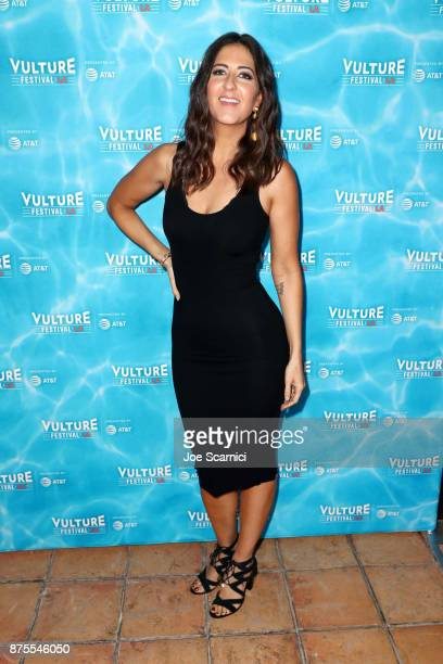 Arcy Carden attends the opening night gala at Vulture Festival LA presented by ATT at Hollywood Roosevelt Hotel on November 17 2017 in Hollywood...