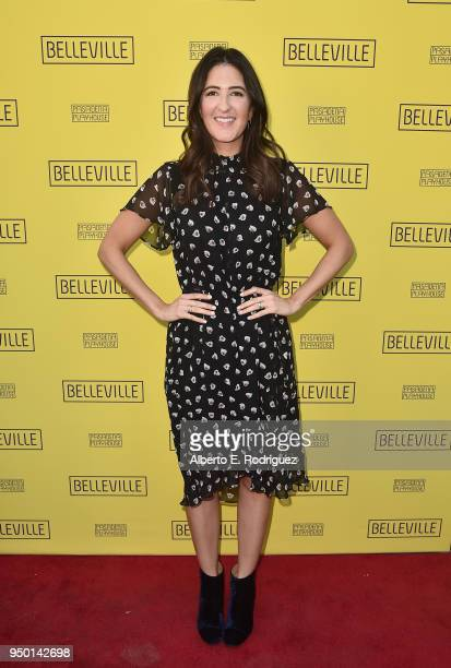 Arcy Carden attends the Pasadena Playhouse Presents Opening Night Of Belleville at Pasadena Playhouse on April 22 2018 in Pasadena California
