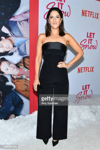 Arcy Carden attends the premiere of Netflix's Let It Snow at Pacific Theatres at The Grove on November 04 2019 in Los Angeles California