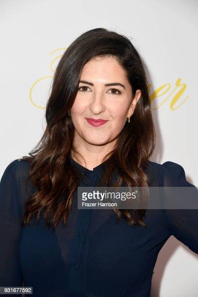 Arcy Carden attends the premiere of The Orchard's 'Flower' at ArcLight Cinemas on March 13 2018 in Hollywood California