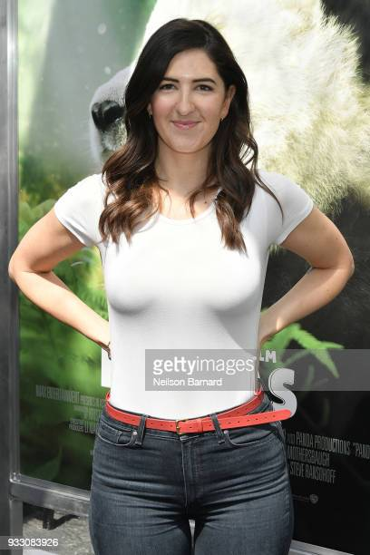 Arcy Carden attends the premiere of Warner Bros Pictures and IMAX Entertainment's 'Pandas' at TCL Chinese Theatre IMAX on March 17 2018 in Hollywood...