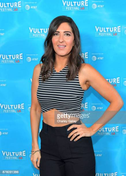 Arcy Carden attends the ''Unreal vs Superstore Pop Culture Trivia Game Show' part of Vulture Festival LA Presented by ATT at Hollywood Roosevelt...
